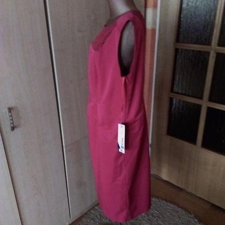 09321ab0e6 De Facto-czerwona sukienka z koronką rozm. 46 sylwester Białystok - image 4
