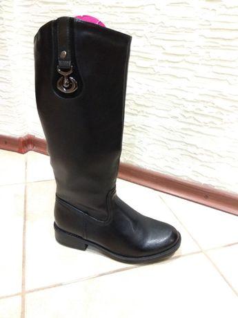 4d254ca39edf13 Продам чоботи жіночі демисезонні 36 37 розмір нові Львів - зображення 1