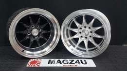 MAGZ4U WHEEL AND TYRE EXPERTS. Volk Rep Wheels available in store.