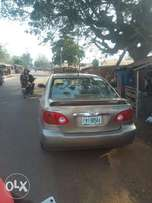 A clean Toyota corolla is available for sale