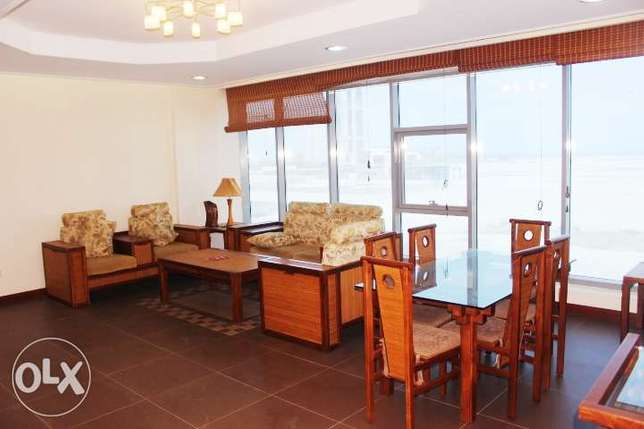 Stylish 2 Bed flat in Seef w Sea view