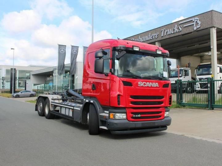 Scania G 440 - 6X2/4 - EURO 6 - CONTAINERWAGEN - MOTOR PTO - 2013
