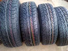 265/65/17 brigestone dueller all terrain 4x new tyres for your bakkie