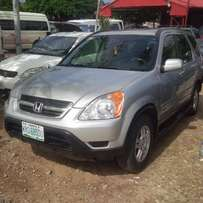 Nigerian Used Honda CR-V, 2004/05. Very Okay.