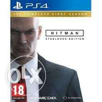 New Hitman: steel book edition the complete first season