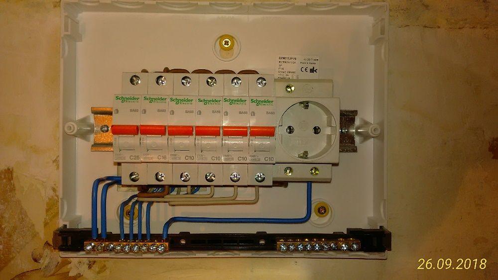 Дом ремонт электрик