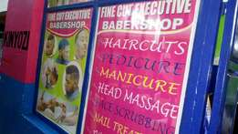 Business sale, Executive Barber shop in Nyeri town center