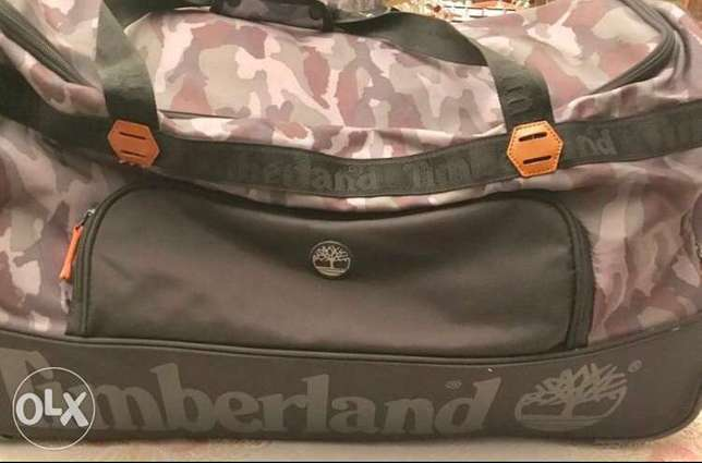 timberland suitcase original from America big size نهـائي ١٨٠٠