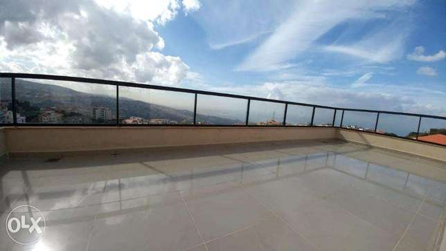Ballouneh 350m2 apartment - for rent - panoramic view - high end -