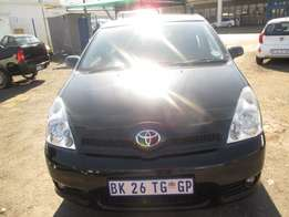 2005 Toyota verso with 148 000km