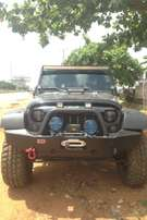 Tokunbo Clean Jeep Wrangler Unlimited with sound engine