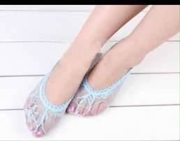Women Sexy Lace Cotton Invisible Liner No Show socks/footsies
