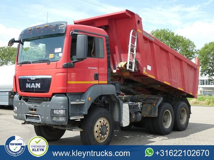 MAN 40.430 TGS 6x6 full steel - 2013