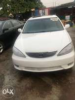 2005 Model Toyota Camry Leather seat Tokunbo