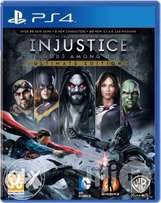 Ps4 CD game injustice gods among us