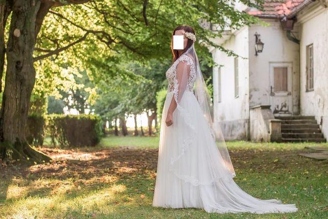 f5b045b89f Suknia ślubna MADONNA + welon Kraków Grzegórzki • OLX.pl