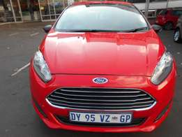 2015 Automatic Ford Fiesta 1.0 Ecoboost For R165,000