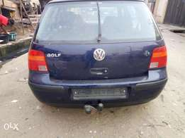 Clean Tokunbo Golf 4
