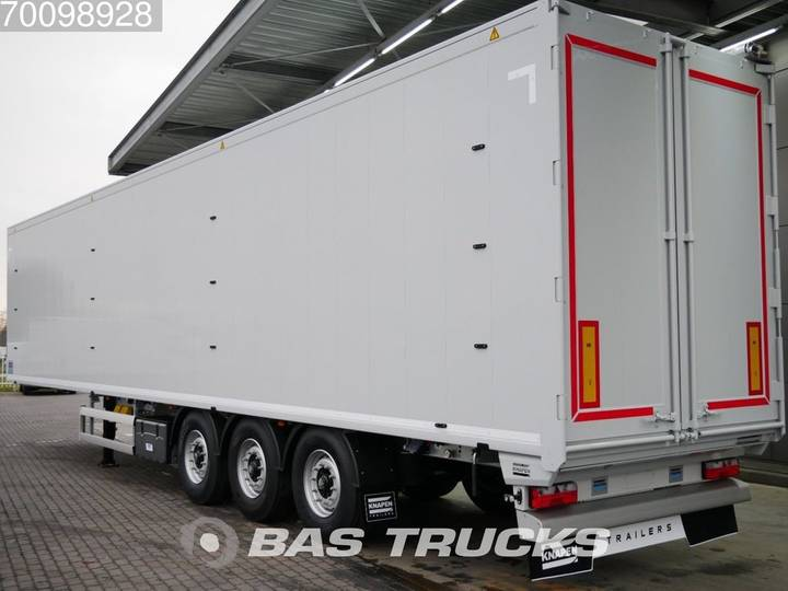 Knapen K100 3 axles 92m3 *New Unused* 10mm Boden Liftachse - 2019