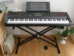 London Used Casio Wk 100 Professional Digital Piano