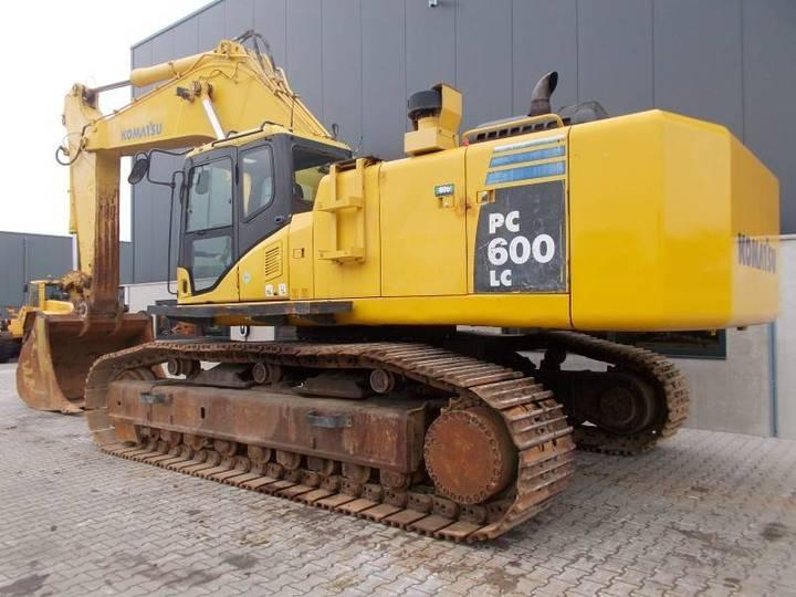 Komatsu Pc600lc-8 - 2011