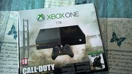 1tb xbox one, 18 games and kinect for sale still new