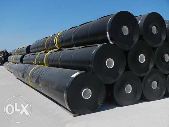 Geomembranes are of high density
