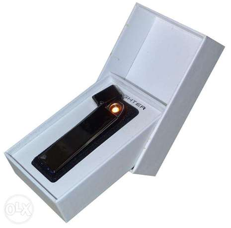 Brand New Black Electric Rechargeable Lighter