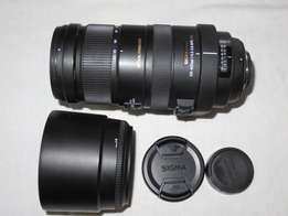 Sigma DG 120 to 400 mm 1: 4.5-5.6 APO lens for Nikon SLR