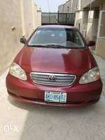 Clean Nigerian Used Corolla LE 2005 Red