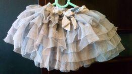 Spódnica blady róż tiulowa 122. Zdjęcie na imgED