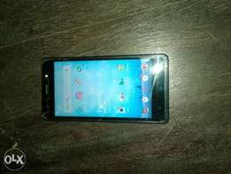 Tecno WX 3p fairly used with broken glass screen guard