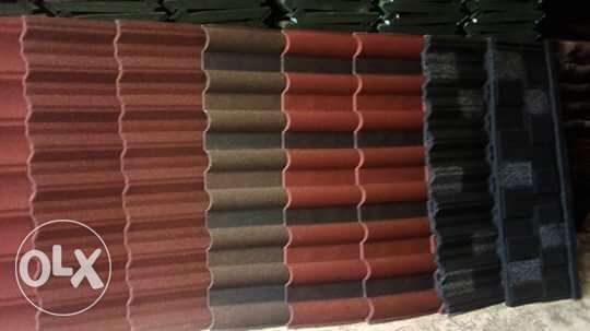 Long lifetime stone coated roofing sheet from golden ever company Eti Osa West - image 1