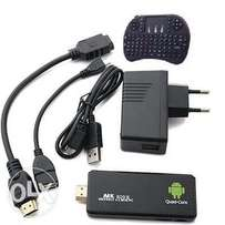 Android Mini PC Stick & Smart Internet TV Dongle + Air Mouse 1GB - 8GB
