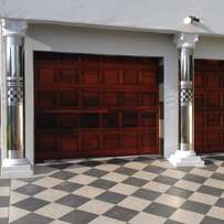 Shiny stainles steel pillar covers installers