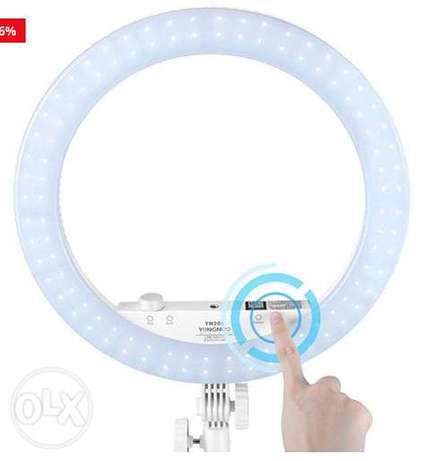 Yongnuo YN208 Pro LED Ring Light زلقا -  3