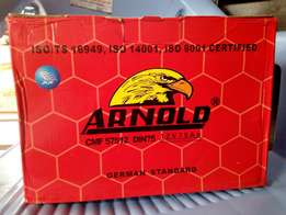 Automobile Battery: Arnold Motor Battery.