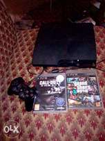 PS3 for sale with games and controller
