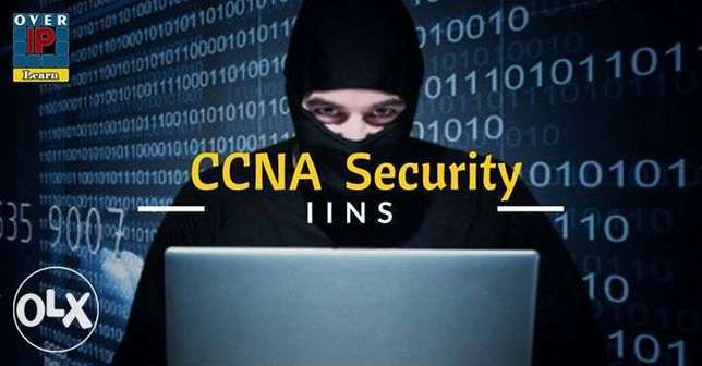 عرض جامد جداااا كورس CCNA Security بتخفيض 70% لفترة محدودة
