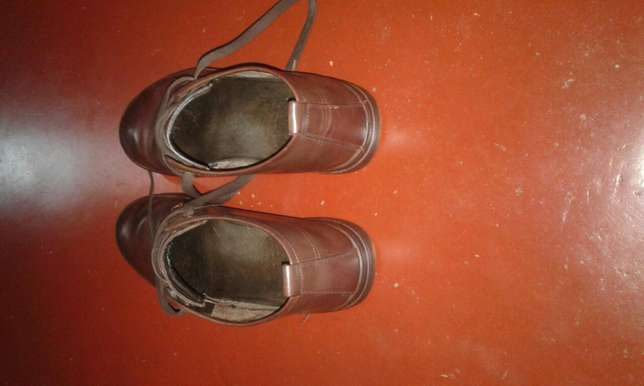 Original brown used leather shoes Kampala - image 1