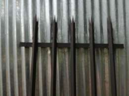 Palisaide security fencing