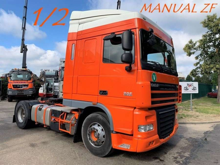 DAF XF 105 410 - MANUAL GEARBOX ZF - SPACECAB - 2