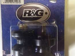 Crash Bobbins R & G Brand New in Packing - Black. 8mm. swingarm - New