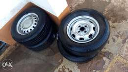 I have used set of tyres size13