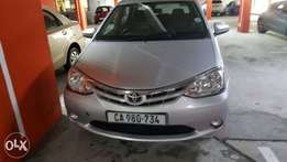 Toyota Etios Silver for sale