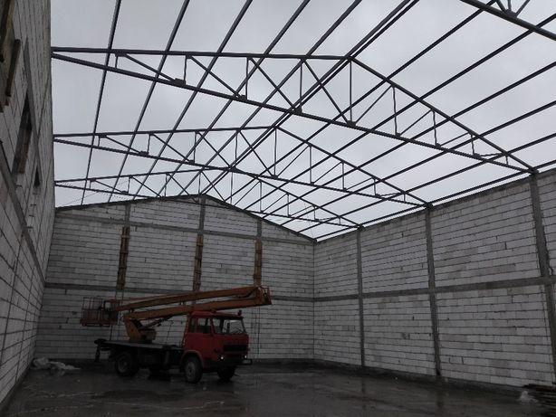 Nowość Konstrukcja stalowa dachu,hale,wiaty Sandomierz • OLX.pl GX33