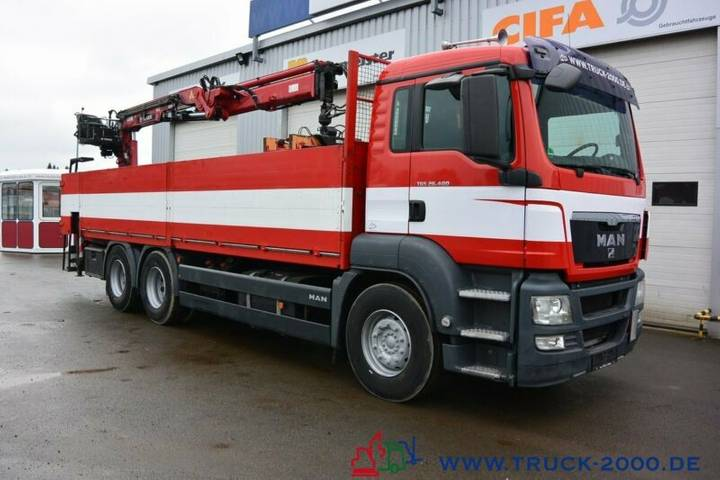 MAN Tgs 26.400 6x4 Atlas Terex Tlc 165.2 11 M=1.5 To - 2008