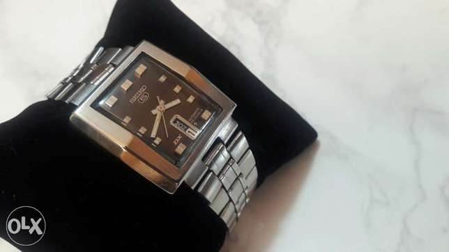 Fabulous 1970's Seiko 5 Automatic 23 jewels Excellent condition
