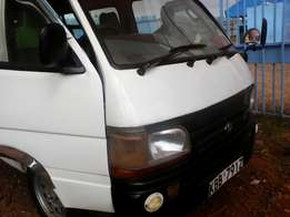 Toyota hiace approved by an olx agent