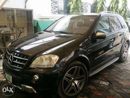 AMG Package Registered Mercedes-Benz ML 63 In Excellent Condition.